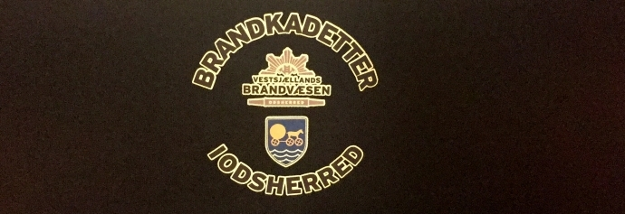 Det nye logo for Odsherred Brandkadetter